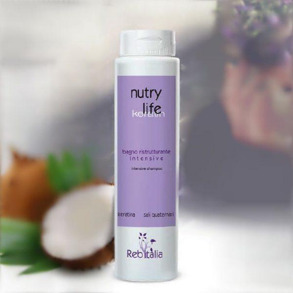 Šampon s keratinom NUTRY LIFE
