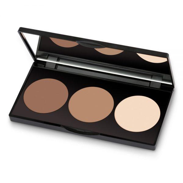 Paleta za senčenje obraza Contour Powder Kit