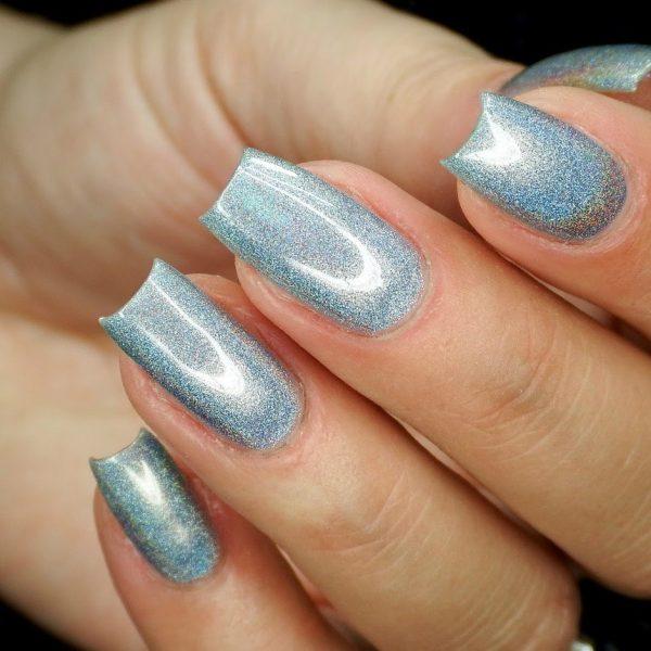 lak za nohte holographic nail color