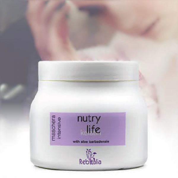 Maska za lase s keratinom NUTRY LIFE