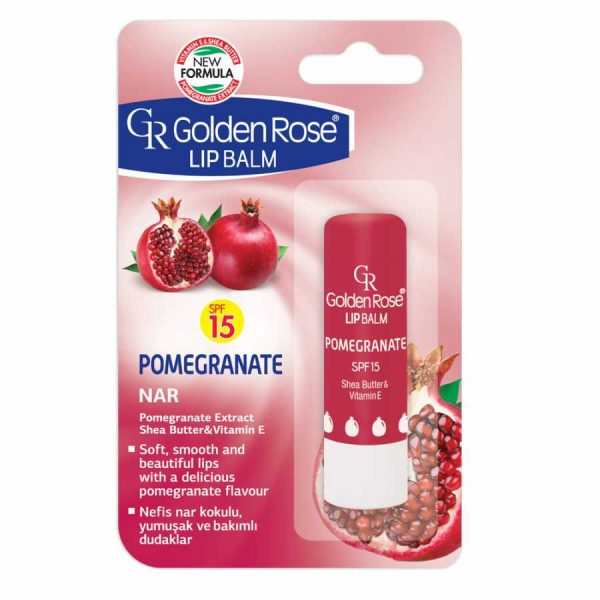 golden rose lip balm balzam za ustnice pomegranate