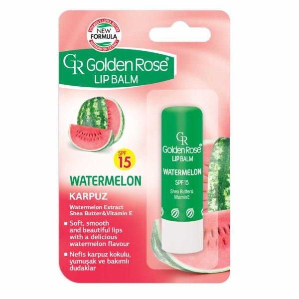 balzam za ustnice lip balm golden rose watermelon