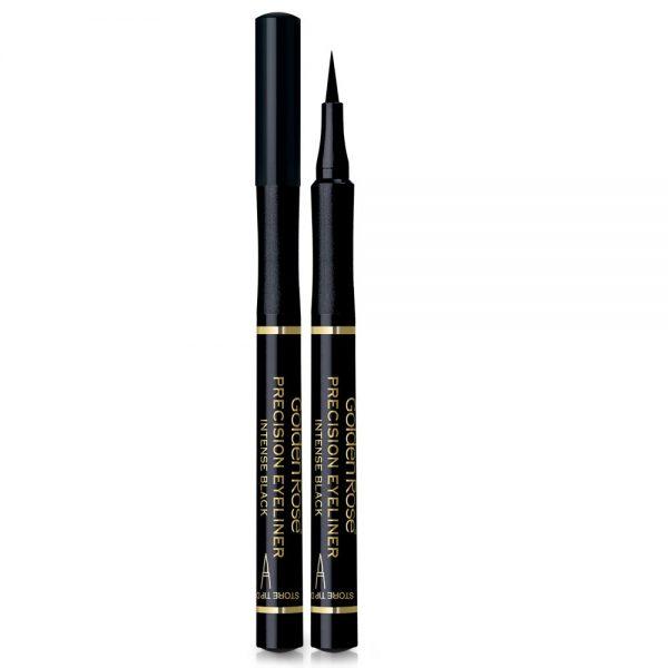 črtalo za oči precision eyeliner intense black