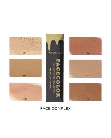 tekoči puder matte facecolor